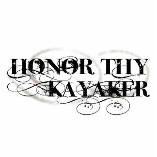 Honor Thy Kayaker Standing Photo Sculpture
