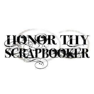 Honor Thy Scrapbooker Standing Photo Sculpture