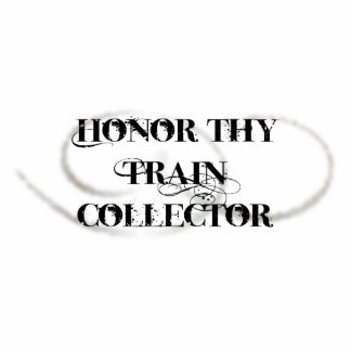 Honor Thy Train Collector Standing Photo Sculpture