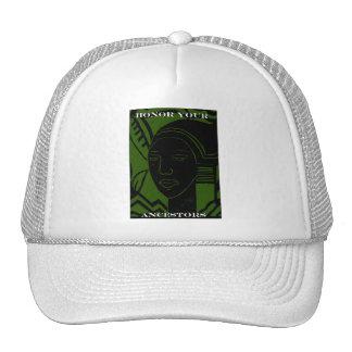 HONOR YOUR ANCESTORS TRUCKER HATS