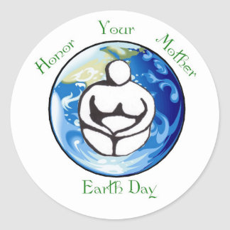 Honor your mother Earth Day Sticker
