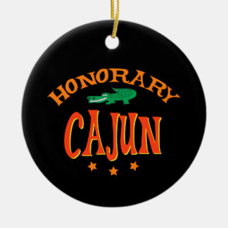 Honorary Cajun Christmas Ornament