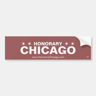 Honorary Chicago Bumper Sticker