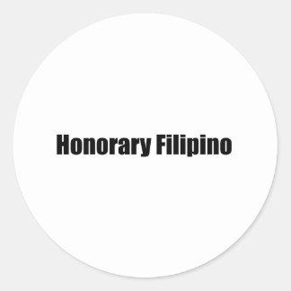 Honorary Filipino / a Stickers