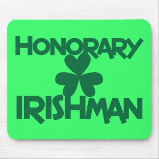 HONORARY IRISHMAN MOUSE MAT