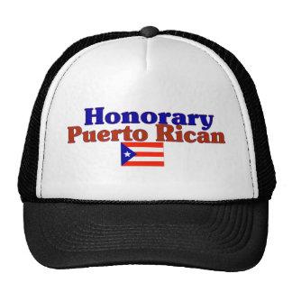 honorary puerto rican mesh hats