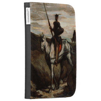 Honore Daumier - Don Quixote in the Mountains Cases For The Kindle