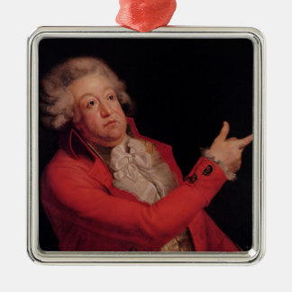 Honore Gabriel Riqueti  Count of Mirabeau Silver-Colored Square Decoration