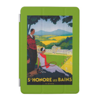 Honore Les Bains Vintage PosterEurope iPad Mini Cover