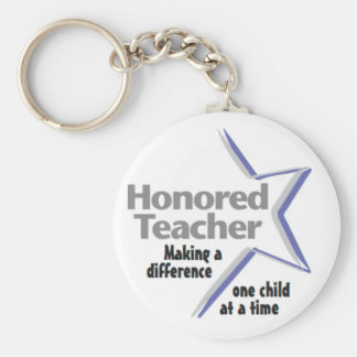 Honored Teacher Keychain