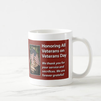 Honoring All Veterans Veterans Day Mug