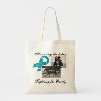 Honoring our taken-Emily McGee Bag... Budget Tote Bag