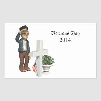 Honoring our Veterans - Rectangle Stickers