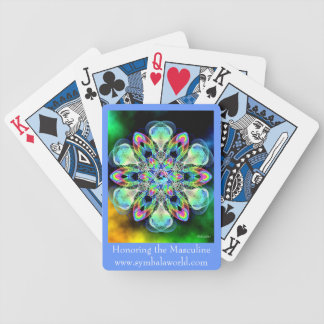 Honoring the Masculine Bicycle Poker Cards