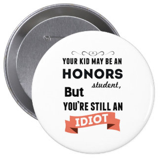 Honors Kid Pinback Button