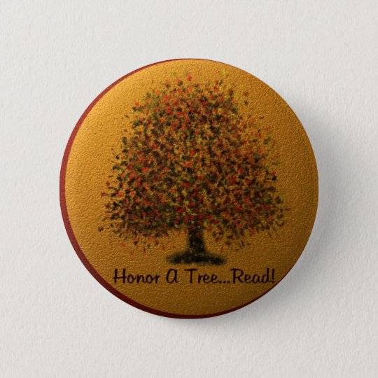 Honour A Tree 6 Cm Round Badge