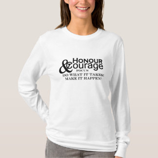 Honour & Courage Womens Basic Hoodie