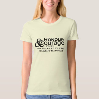 Honour & Courage Womens Basic T-Shirt