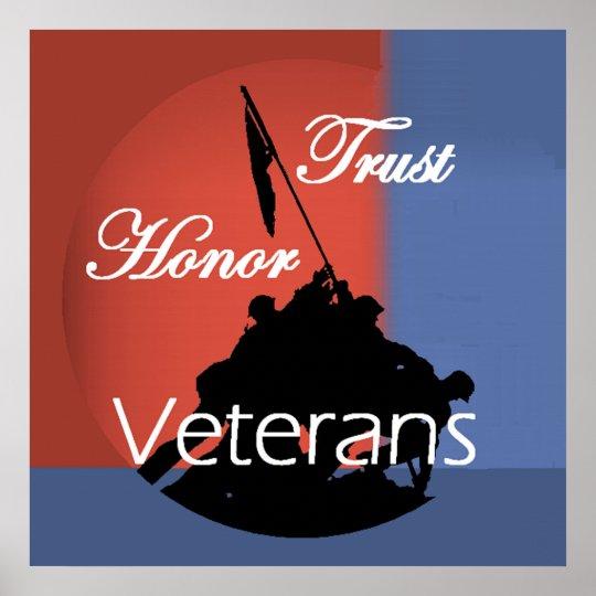 Honour Veterans POSTERS Print