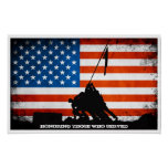 Honouring those who Served - Veterans Day Print