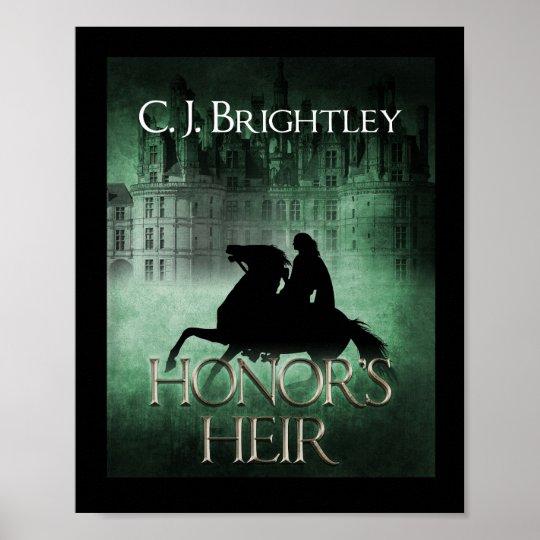 Honour's Heir Cover Art Mini Poster