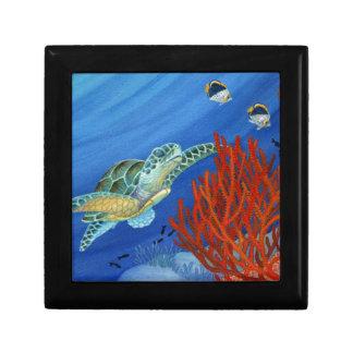 Honu and Black Coral Gift Box