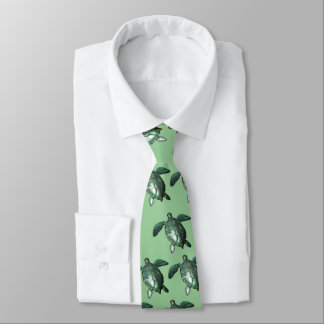 Honu - Green Sea Turtle Tie