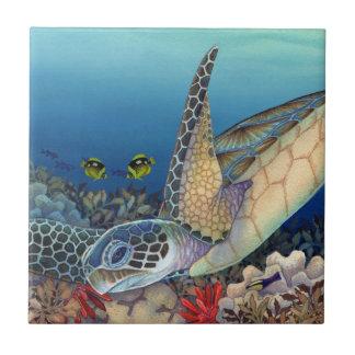 Honu (Green Sea Turtle) Tile