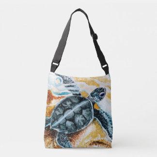 Honu Hatchling (Green Sea Turtle) Crossbody Bag