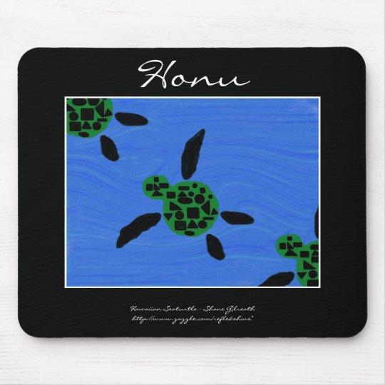 Honu Hawaiian Seaturtle Mousepad