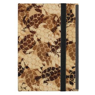 Honu Sea Turtle Hawaiian Aloha  Faux Wood Cover For iPad Mini
