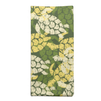 Honu Sea Turtle Hawaiian Aloha -Olive Napkin