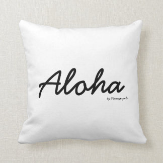 Honu Seal Aloha Cushion