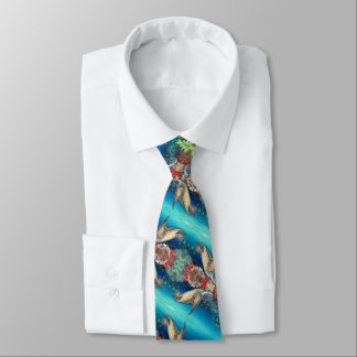 Honu Swimming (Green Sea Turtle) Tie