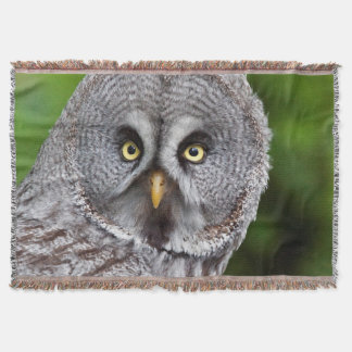 Hoo are You? Throw Blanket