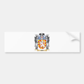 Hoo Coat of Arms - Family Crest Bumper Sticker