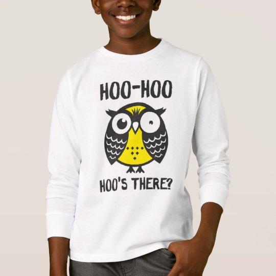 hoo hoo t-shirt For children