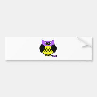 Hoo Pudgie Pet Bumper Sticker