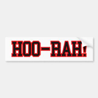 HOO RAH BUMPER STICKER