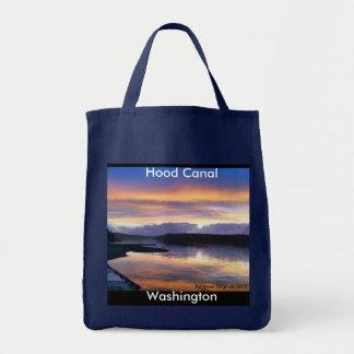 Hood Canal Washington Grogery Tote Grocery Tote Bag