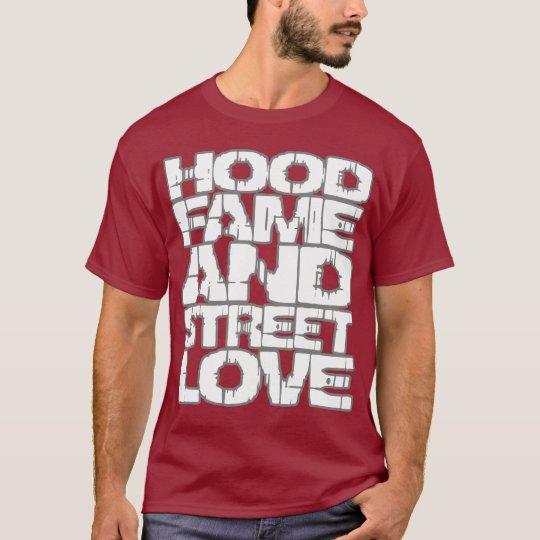 Hood Fame HIP HOP t shirt
