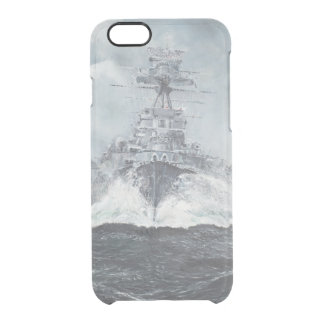 Hood heads for Bismarck 23rdMay 1941. 2014 Clear iPhone 6/6S Case