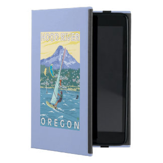 Hood River, ORWind Surfers & Kite Boarders Cover For iPad Mini