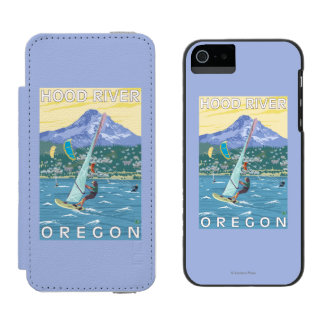 Hood River, ORWind Surfers & Kite Boarders Incipio Watson™ iPhone 5 Wallet Case