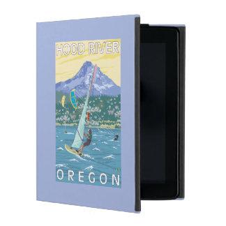 Hood River, ORWind Surfers & Kite Boarders iPad Cover