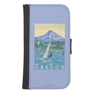 Hood River, ORWind Surfers & Kite Boarders Samsung S4 Wallet Case