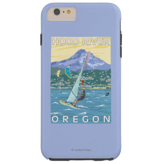 Hood River, ORWind Surfers & Kite Boarders Tough iPhone 6 Plus Case
