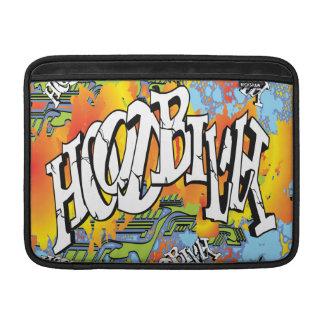 Hoodbilly Techno Splash Graffiti MacBook Air Sleeves