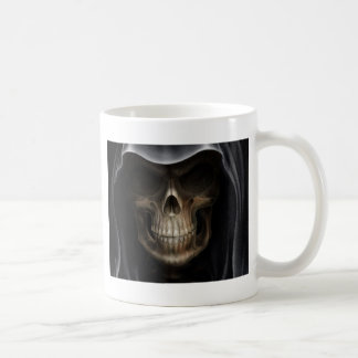 Hooded Skull - Grim Reaper Coffee Mug