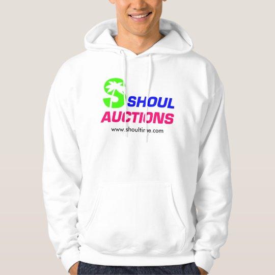 Hooded Sweatshirt, White Hoodie